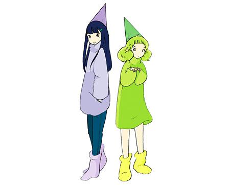 新メンバーのゆゆ(左)としゅか(右)