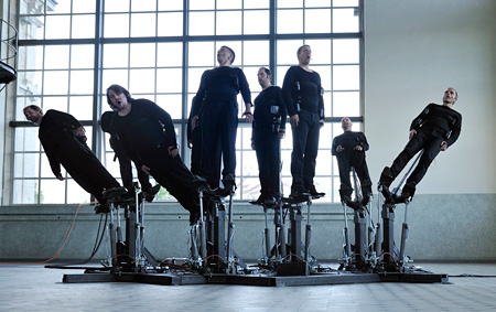 アート部門大賞『Pendulum Choir』 Cod.Act (Michel DÉCOSTERD / André DÉCOSTERD) ©Cod.Act photo:Xavier Voirol