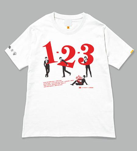 THE BAWDIESタワーレコードコラボTシャツ(前面)