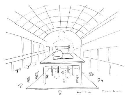 鈴木康広 オフサイト展示に向けた新作のイメージ・スケッチ 2012 SUZUKI Yasuhiro, Drawing for new work in Off-site project , 2012