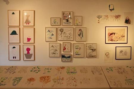 『べつの星』展示風景(NOW IDeA, 2011年)