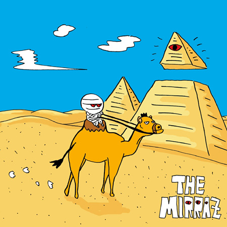 The Mirraz『選ばれてここに来たんじゃなく、選んでここに来たんだ』ジャケット