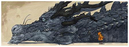 ©寺田克也/猫とドラゴン
