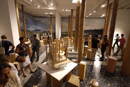 第13回ヴェネチア・ビエンナーレ国際建築展 日本館 ©Naoya Hatakeyama