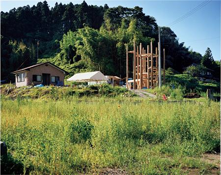 陸前高田の「みんなの家」が立つ敷地 ©Naoya Hatakeyama