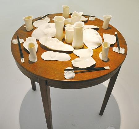 島本了多『体の器』(陶器)
