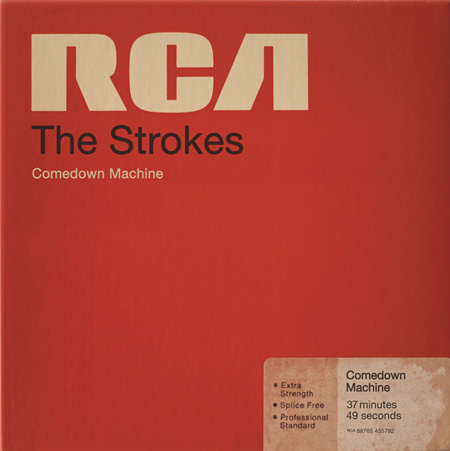 The Strokes『Comedown Machine』ジャケット