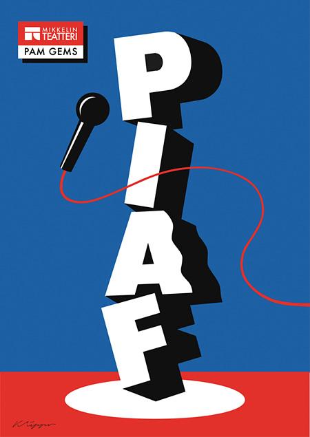 Pam Gems / Piaf, 1986, Mikkelin Teatteri