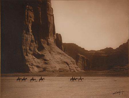 Canyon de Chelly, Navaho(キャニオン・デ・シェイ ナヴァホ族)