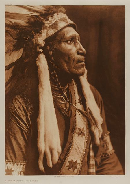Raven Blanket, Nez Perce(漆黒の外衣 ネ・ペルセ族)