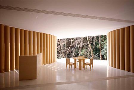 紙の家 Photo by Hiroyuki Hirai