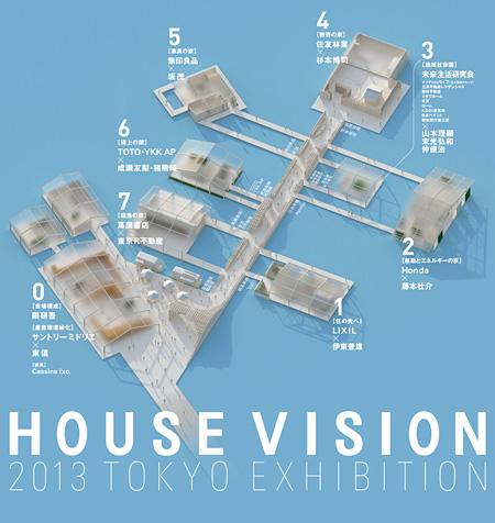 『HOUSE VISION 2013 TOKYO EXIBITION』キービジュアル