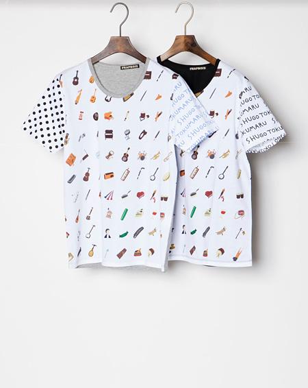 トクマルシューゴ×FRAPBOIS Tシャツ