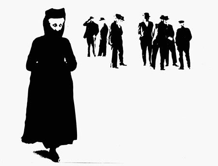 『スカンノ』より Author: Mario Giacomelli Title: Io non ho mani che mi accarezzano il volto Year: 1961-63 ©Eredi Mario Giacomelli