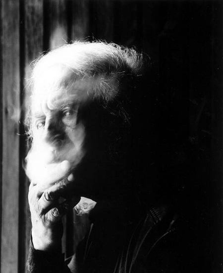 マリオ・ジャコメッリ ポートレイト写真 Mario Giacomelli fotografato Year: 1999 ©Guido Harari/Contrasto