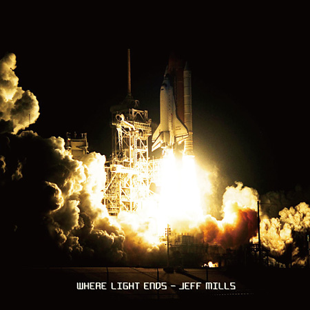 JEFF MILLS『Where Light Ends』ジャケット