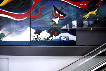 Chim↑Pom『LEVEL7feat.『明日の神話』』2011 ©Chim↑Pom Courtesy of MUJIN-TO Production, Tokyo