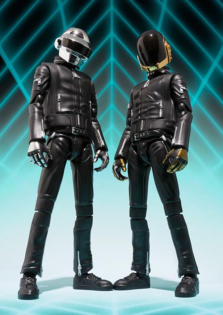 Daft Punkアクションフィギュア