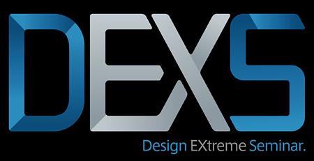 『デザイン エクストリーム セミナー 2013(DEXS)』ロゴ