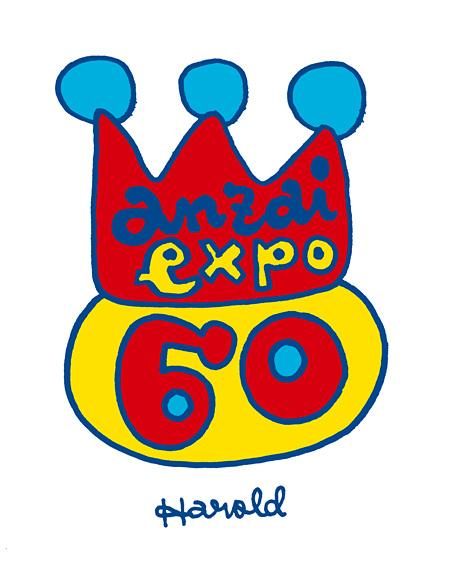 『anzai expo 60〜安齋肇 還暦博覧会〜』ロゴ ©anzaiexpo60