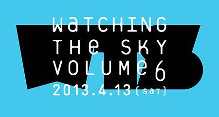 『ウォッチング・ザ・スカイ vol.6』ロゴ