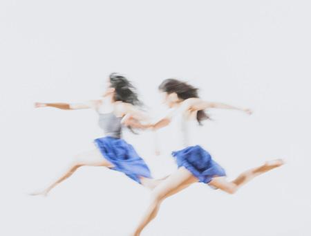 『POWER OF ART DANCE SERIES VOL.2 上村なおか 森下真樹「駈ける女」』イメージビジュアル photo:Katsura Komiyama