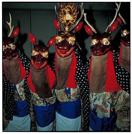 『川井村、夏屋鹿踊』岩手県宮古市 2009年10月 ©TATSUKI MASARU