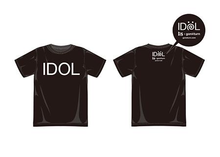 BiS×gonoturn IDOL Tシャツ イメージビジュアル