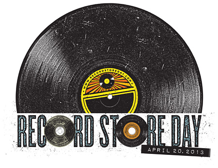 『RECORD STORE DAY 2013』ロゴ