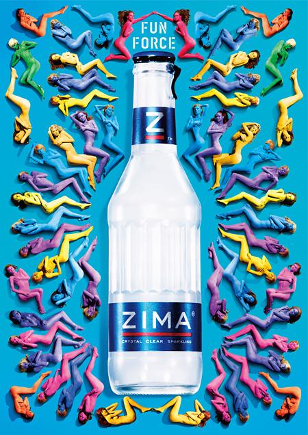 新ボトルにリニューアルしたZIMA