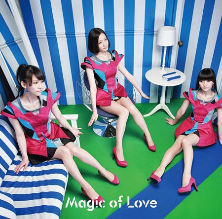 Perfume『Magic of Love』通常盤ジャケット