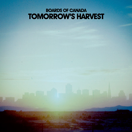 Boards of Canada『Tomorrow's Harvest』ジャケット