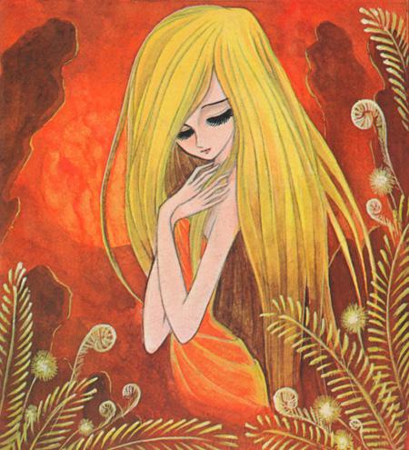 『銀の谷のマリア』(虫プロ商事、1970年より) ©Leiji Matsumoto
