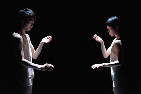岩渕貞太、関かおり『Hetero』photo:Kazuyuki Matsumoto
