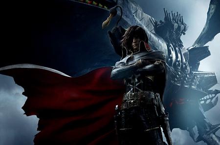 『キャプテンハーロック』キービジュアル ©LEIJIMATSUMOTO/CAPTAIN HARLOCK Film Partners
