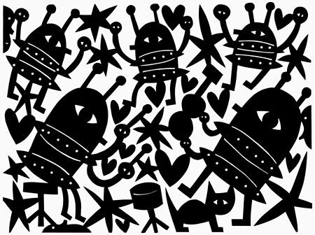 ジャド・フェア『Robot Party』