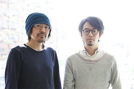 左から古川日出男、後藤正文(ASIAN KUNG-FU GENERATION)(CINRA.NETインタビューより)