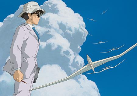 庵野秀明が声を担当する堀越二郎 ©2013 二馬力・GNDHDDTK