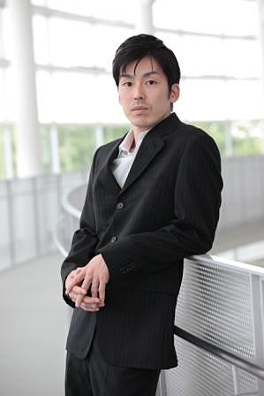 金森穣(撮影:篠山紀信)