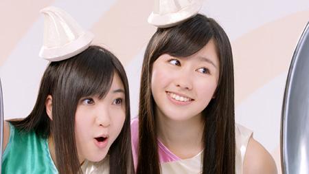 ロッテアイス『爽』テレビCM「バニラと氷篇」より