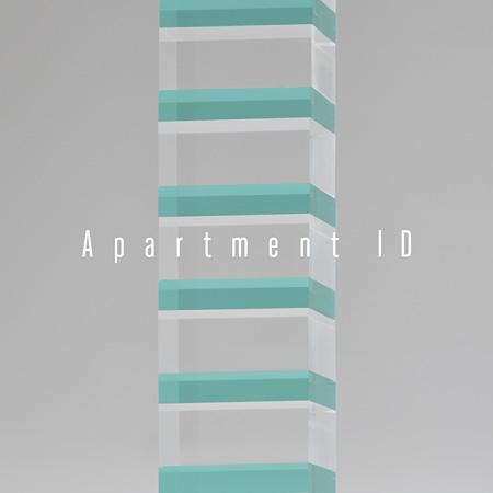 COMA*『Apartment ID』ジャケット