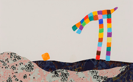 『ペツェッティーノ』 1975年 Pezzettino ©1975 by Leo Lionni, renewed 2004 by Nora Lionni and Louis Mannie Lionni / Pantheon Works by Leo Lionni, On Loan By The Lionni Family