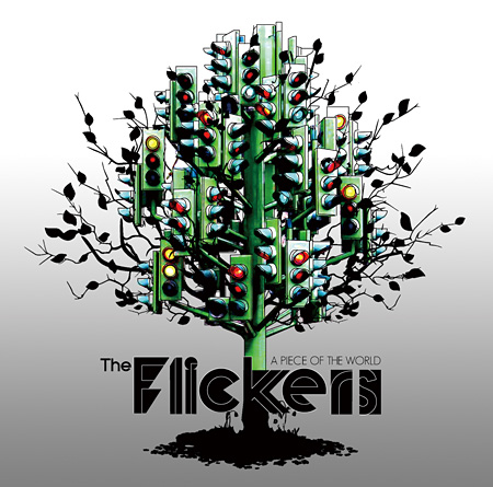 The Flickers『A PIECE OF THE WORLD』ジャケット