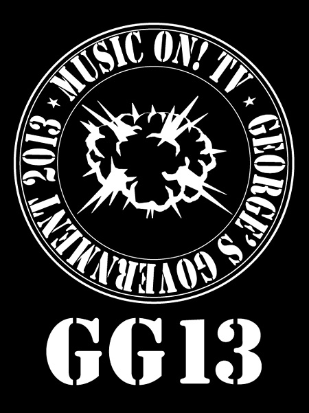 『MUSIC ON! TV presents GG13』ロゴ