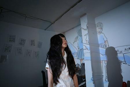 マームとジプシー8月公演『cocoon』イメージビジュアル