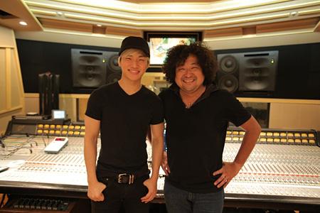 主題歌を担当するD-LITE(from BIGBANG)と葉加瀬太郎