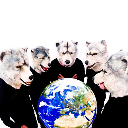 MAN WITH A MISSION『MASH UP THE WORLD』通常盤ジャケット