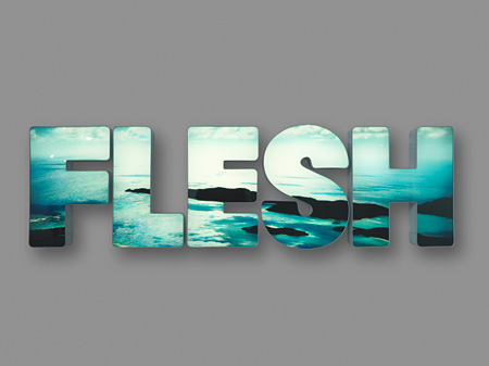 ダグ・エイケン『FLESH』2012 LED lit lightbox 33 1/4 x 114 inches (84.5 x 289.6 cm) Edition: 4 Courtesy 303 Gallery, New York