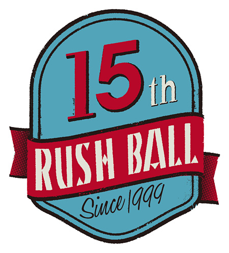 『RUSH BALL 15th』ロゴ