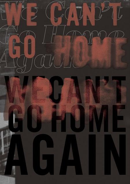 『ニコラス・レイ読本「We Can't Go Home Again」』表紙